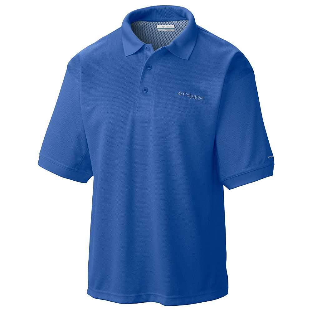 コロンビア メンズ ハイキング・登山 トップス【Columbia Perfect Cast Polo Shirt】Vivid Blue