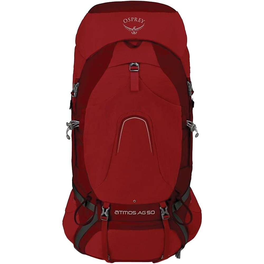 オスプレー メンズ ハイキング・登山【Osprey Atmos AG 50 Pack】Rigby Red
