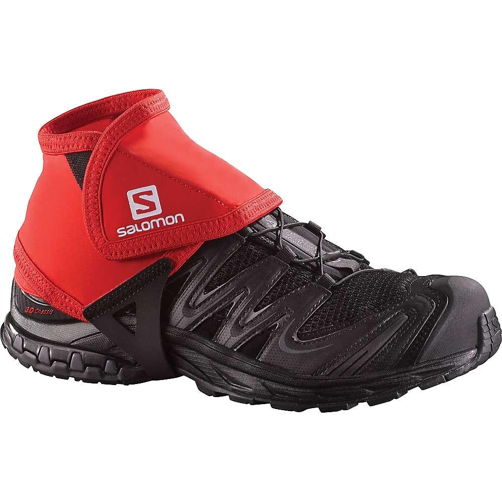 サロモン ユニセックス ハイキング・登山【Salomon Trail Gaiters Low】Bright Red