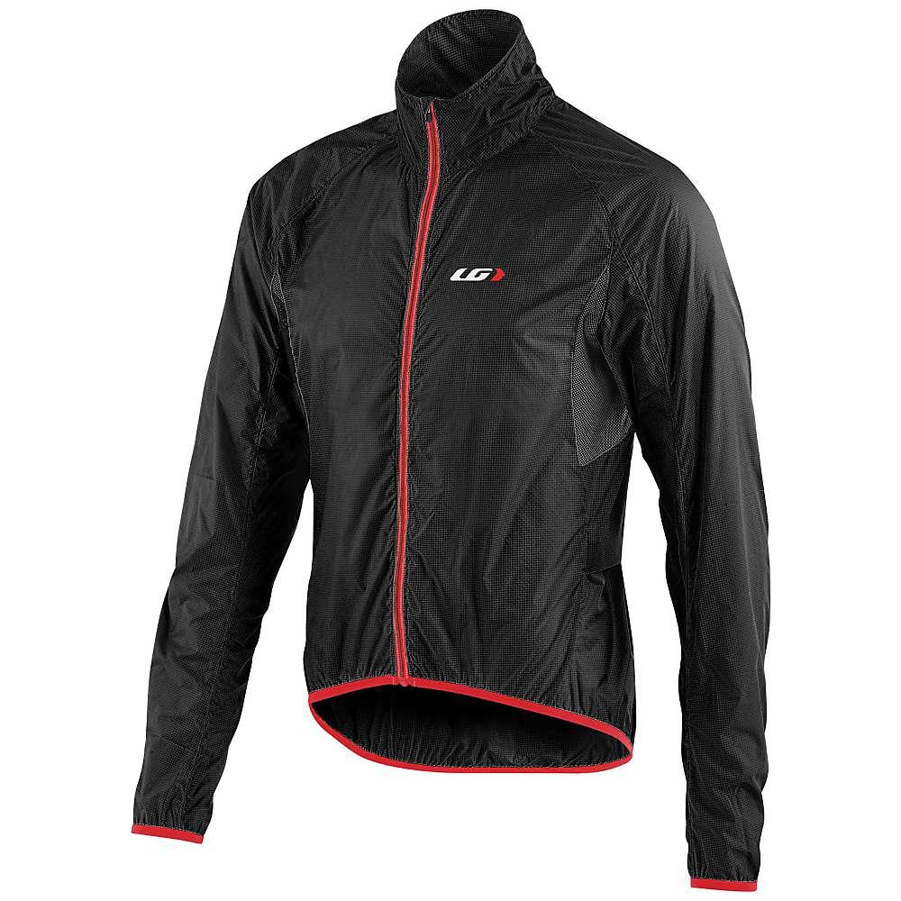 ルイスガーナー メンズ 自転車 アウター【Louis Garneau X-Lite Jacket】Black / Red
