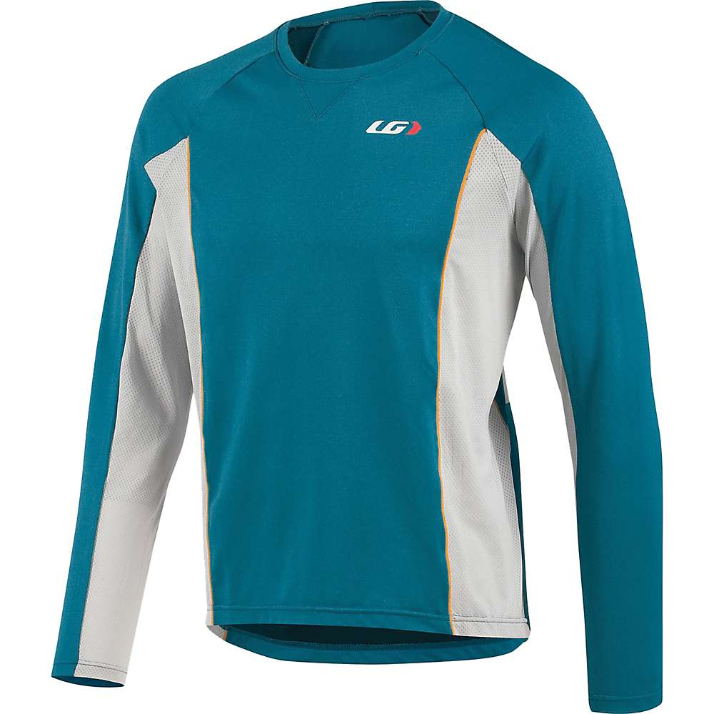 ルイスガーナー メンズ 自転車 トップス【Louis Garneau HTO Long Sleeve Jersey】Moroccan Blue