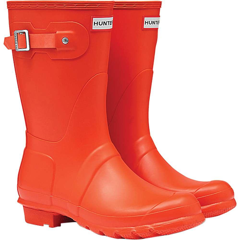 100%安い ハンター レディース ハンター ハイキング・登山 シューズ Original レディース・靴【Hunter Original Short Boot】Orange, 海部町:1b9bd848 --- canoncity.azurewebsites.net