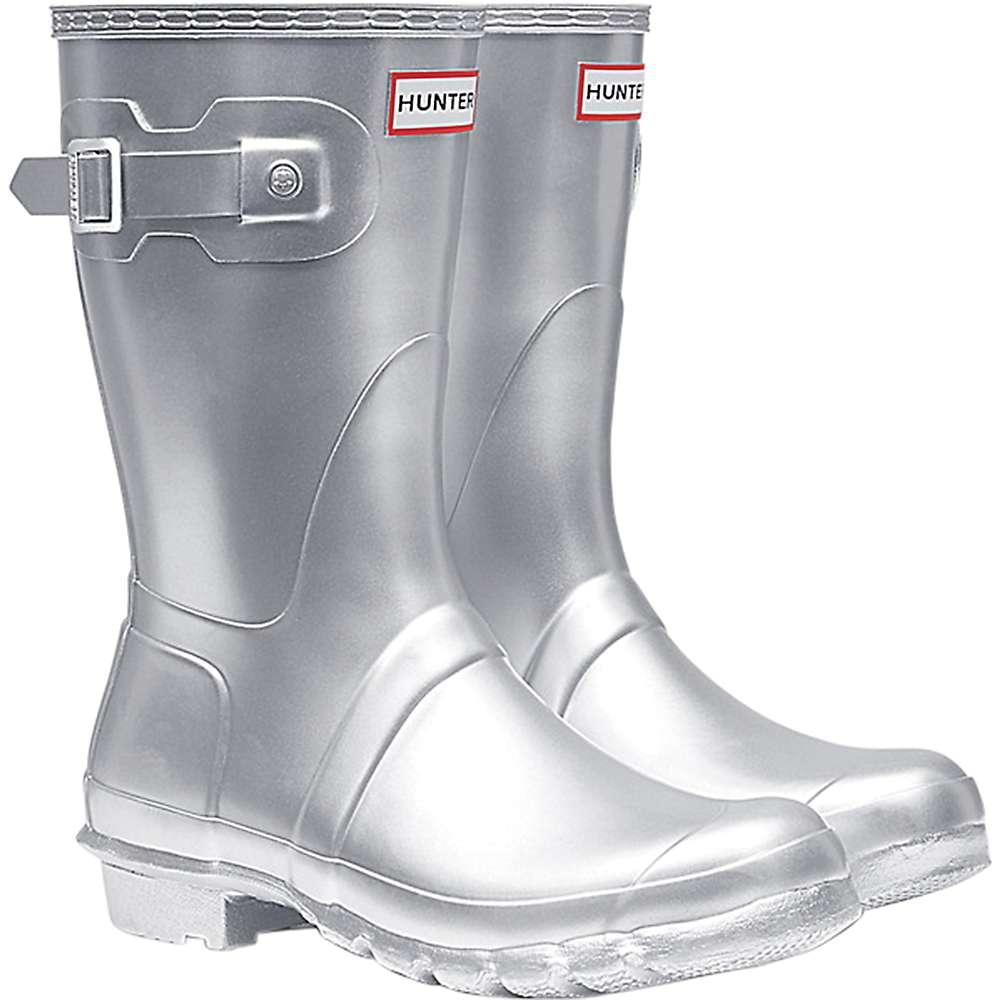 ハンター レディース ハイキング・登山 シューズ・靴【Hunter Original Short Boot】Silver