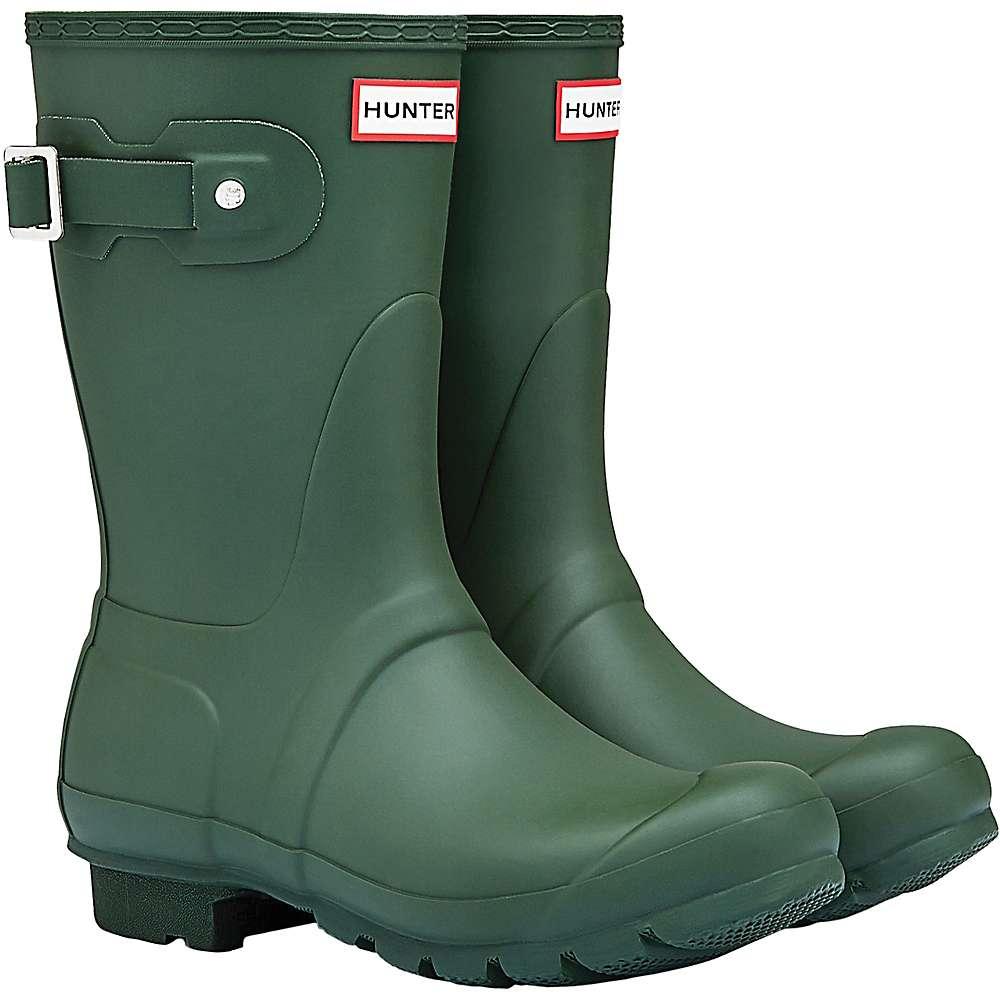 ハンター レディース ハイキング・登山 シューズ・靴【Hunter Original Short Boot】Hunter Green