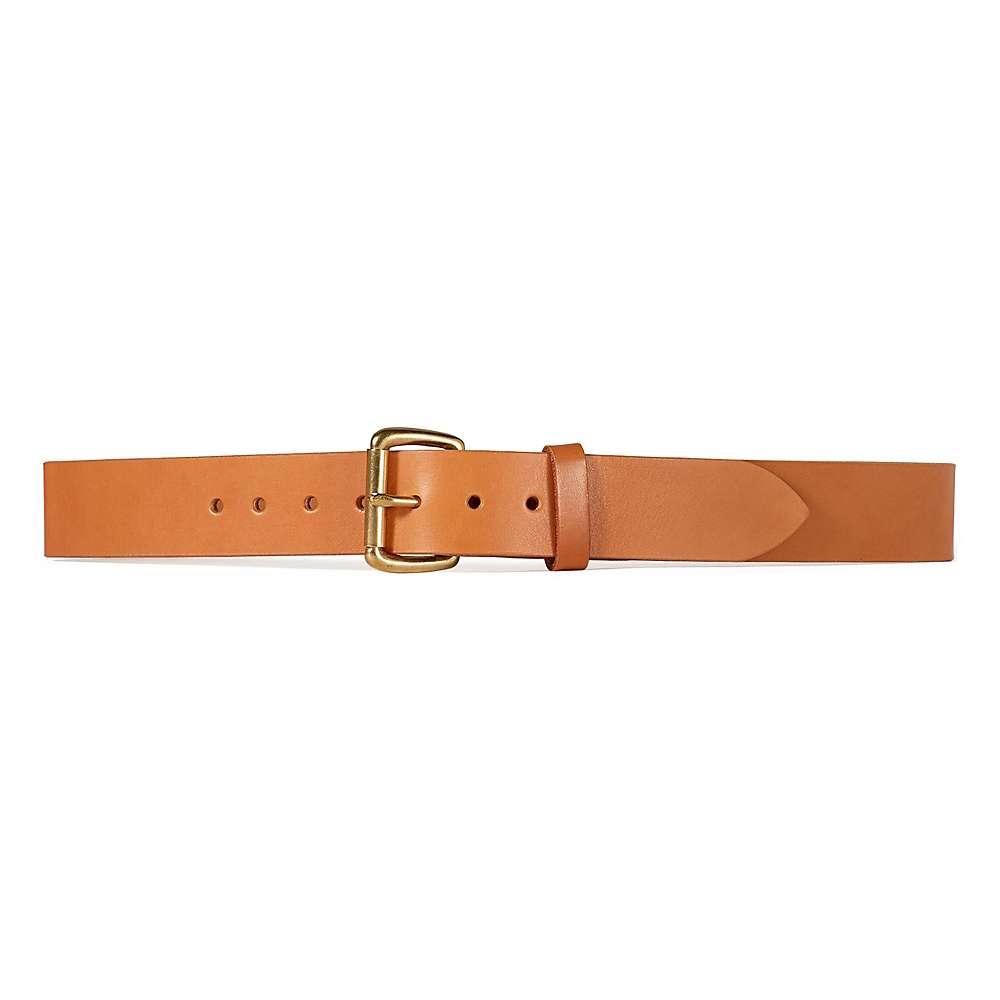 フィルソン メンズ ハイキング・登山【Filson 1.5IN Bridle Leather Belt】Tan Leather