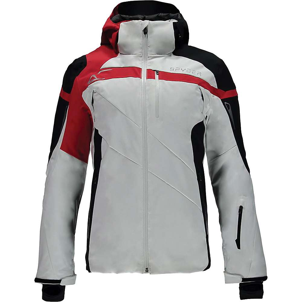 スパイダー メンズ スキー・スノーボード アウター【Spyder Titan Jacket】White / Black / Red