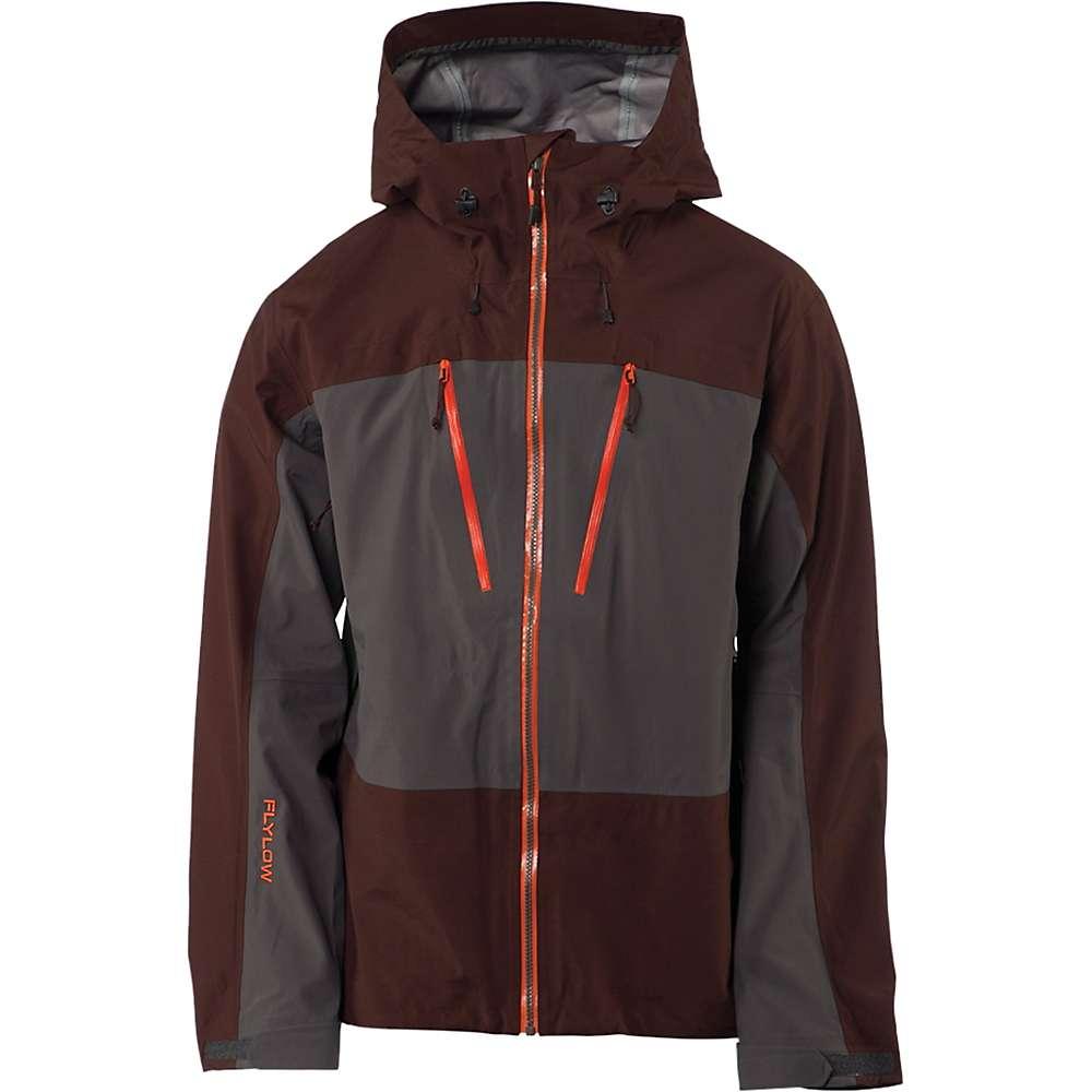 フライロウ メンズ スキー・スノーボード アウター【Flylow Lab Coat】Granite / Cola