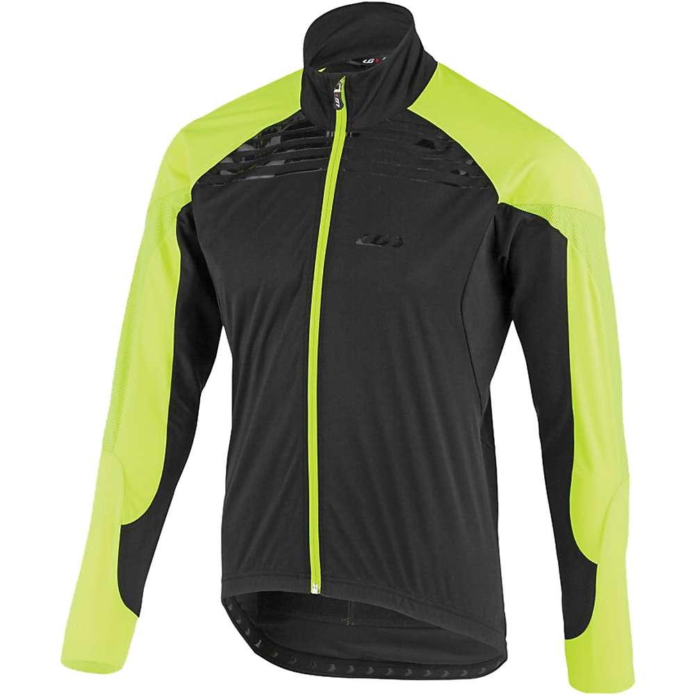 ルイスガーナー メンズ 自転車 アウター【Louis Garneau Glaze RTR Jacket】Black / Yellow