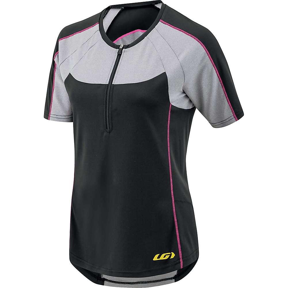 ルイスガーナー レディース 自転車 トップス【Louis Garneau Icefit Zip-T Jersey】Black / Grey