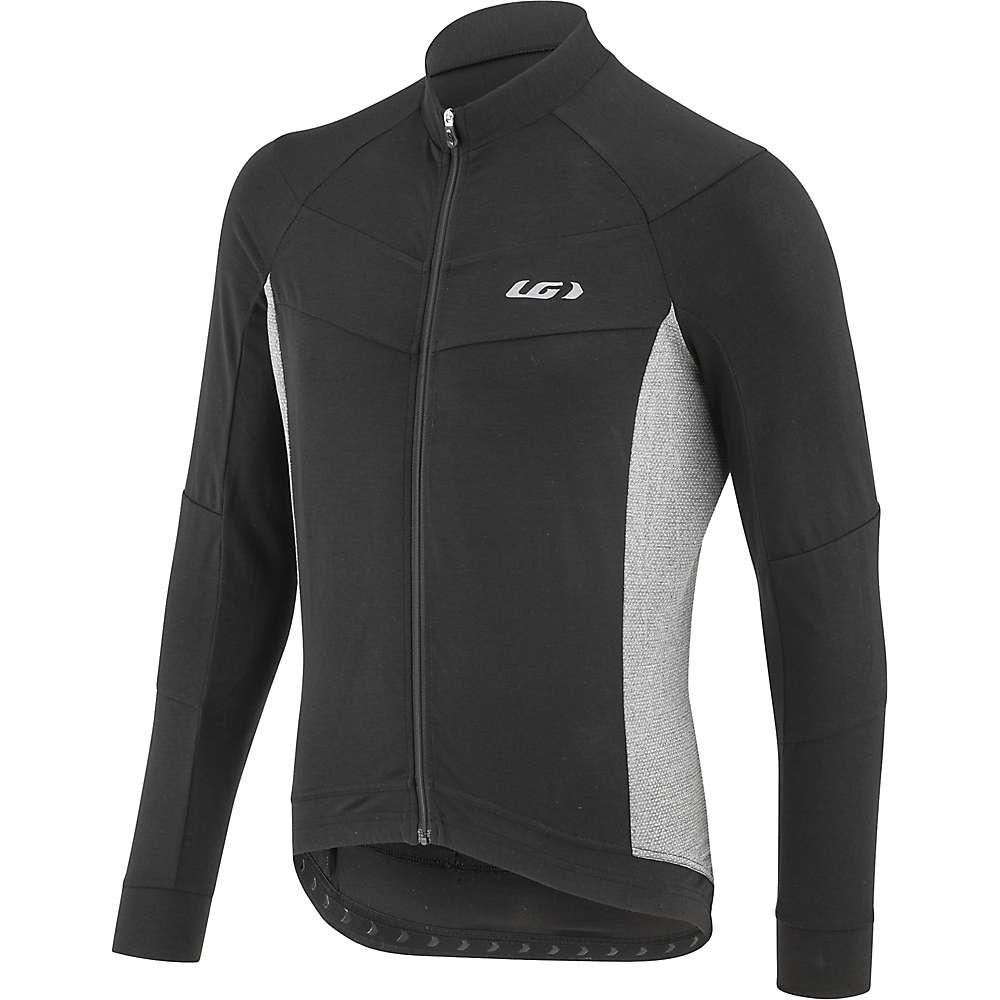 ルイスガーナー メンズ 自転車 トップス【Louis Garneau Lemmon LS Jersey】Black / Grey