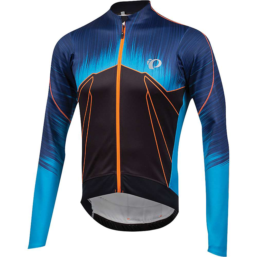 パールイズミ メンズ 自転車 トップス【Pearl Izumi P.R.O. Pursuit Wind Thermal Jersey】PRO Team Bel Air Blue