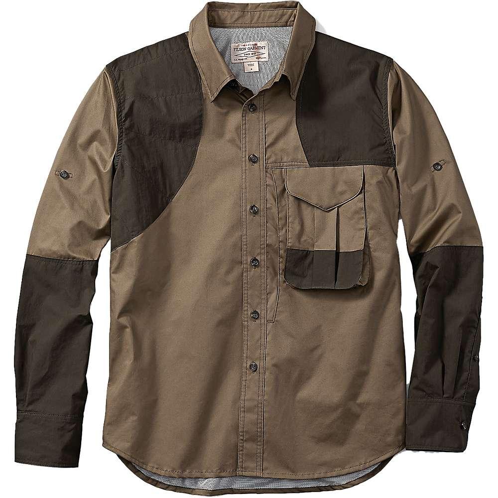 フィルソン メンズ ハイキング・登山 トップス【Filson Frontloading Shooting Shirt】Dark Tan / Dark Olive