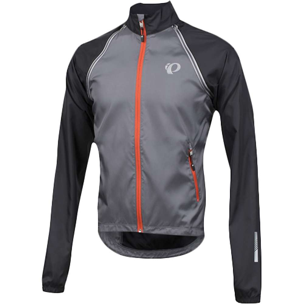 パールイズミ メンズ 自転車 アウター【Pearl Izumi ELITE Barrier Convertible Jacket】Smoked Pearl / Black