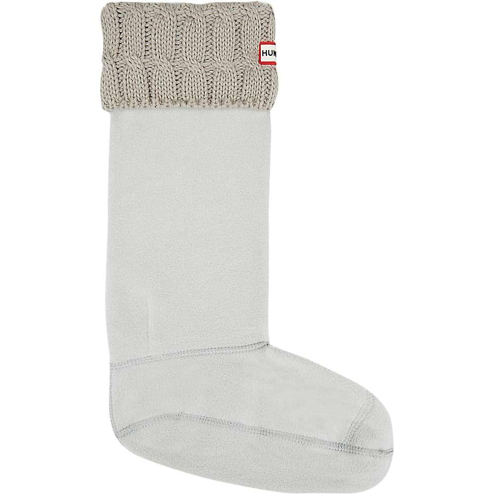 ハンター レディース インナー・下着 ソックス【Hunter Original 6 Stitch Cable Tall Boot Sock】Greige