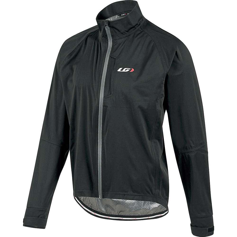 ルイスガーナー メンズ 自転車 アウター【Louis Garneau Commit Waterproof Jacket】Black