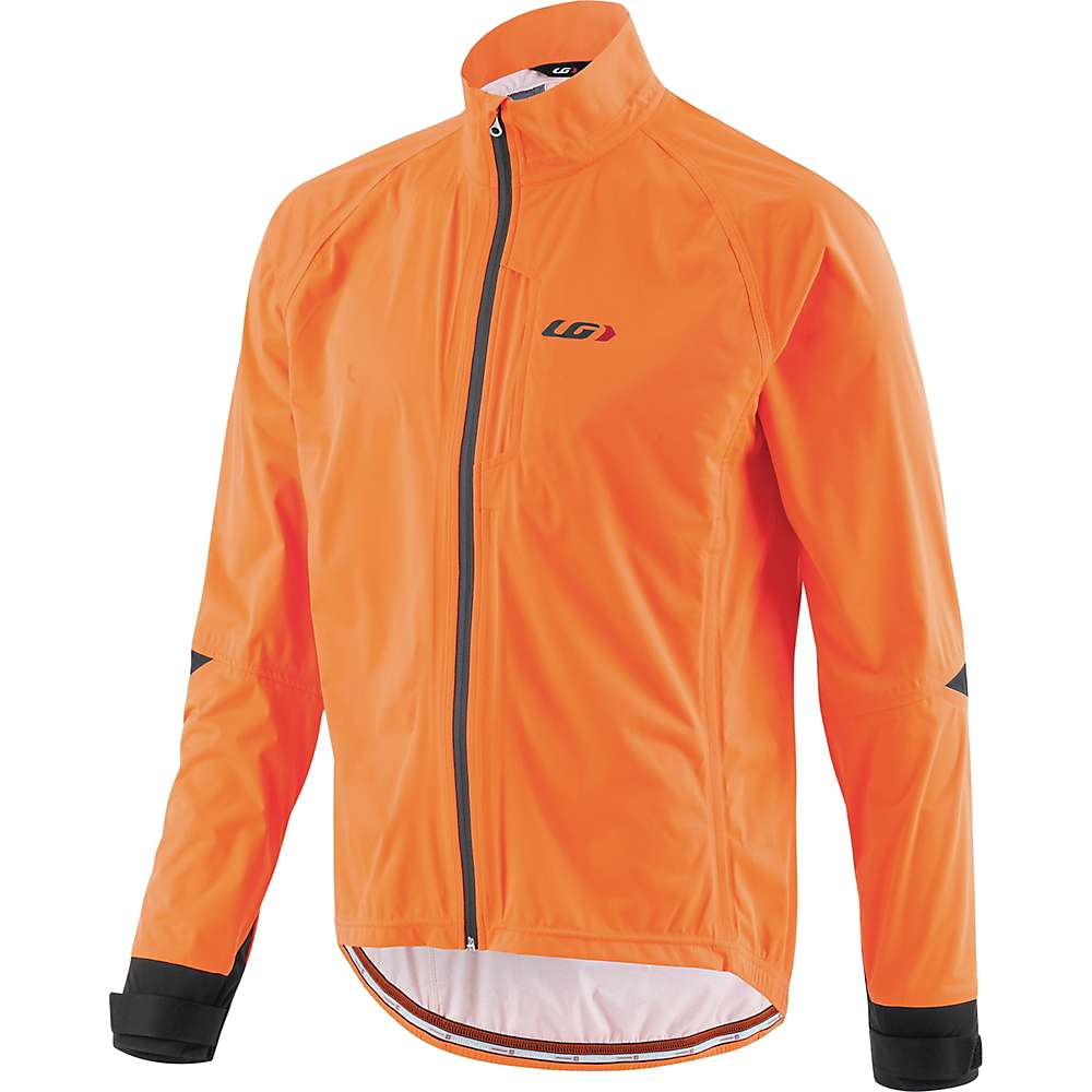 ルイスガーナー メンズ 自転車 アウター【Louis Garneau Commit Waterproof Jacket】Orange Fluo