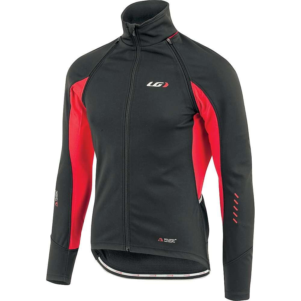 ルイスガーナー メンズ 自転車 アウター【Louis Garneau Spire Convertible Jacket】Black / Red, ワカサチョウ:79546498 --- chargers.jp