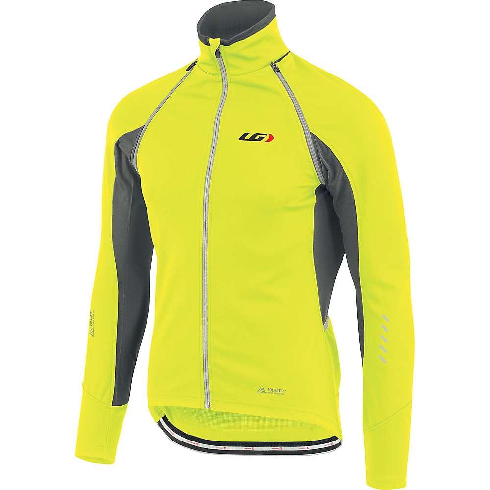 ルイスガーナー メンズ 自転車 アウター【Louis Garneau Spire Convertible Jacket】Bright Yellow
