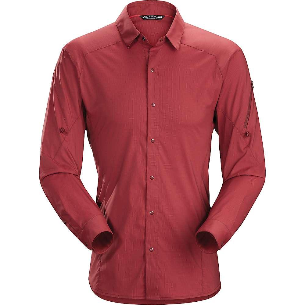 アークテリクス メンズ ハイキング・登山 トップス【Arcteryx Elaho LS Shirt】Pompeii