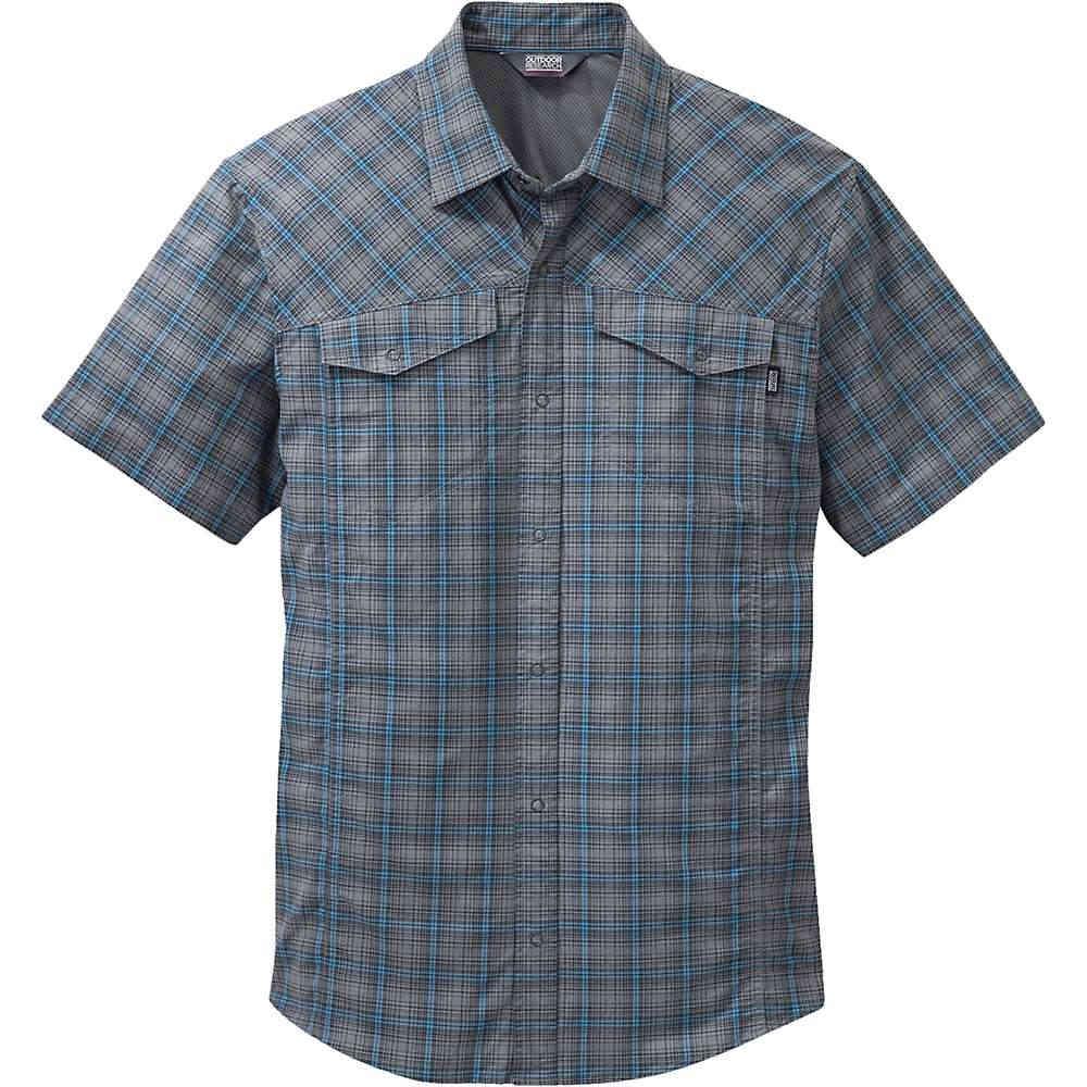 アウトドアリサーチ メンズ ハイキング・登山 トップス【Outdoor Research Pagosa SS Shirt】Pewter