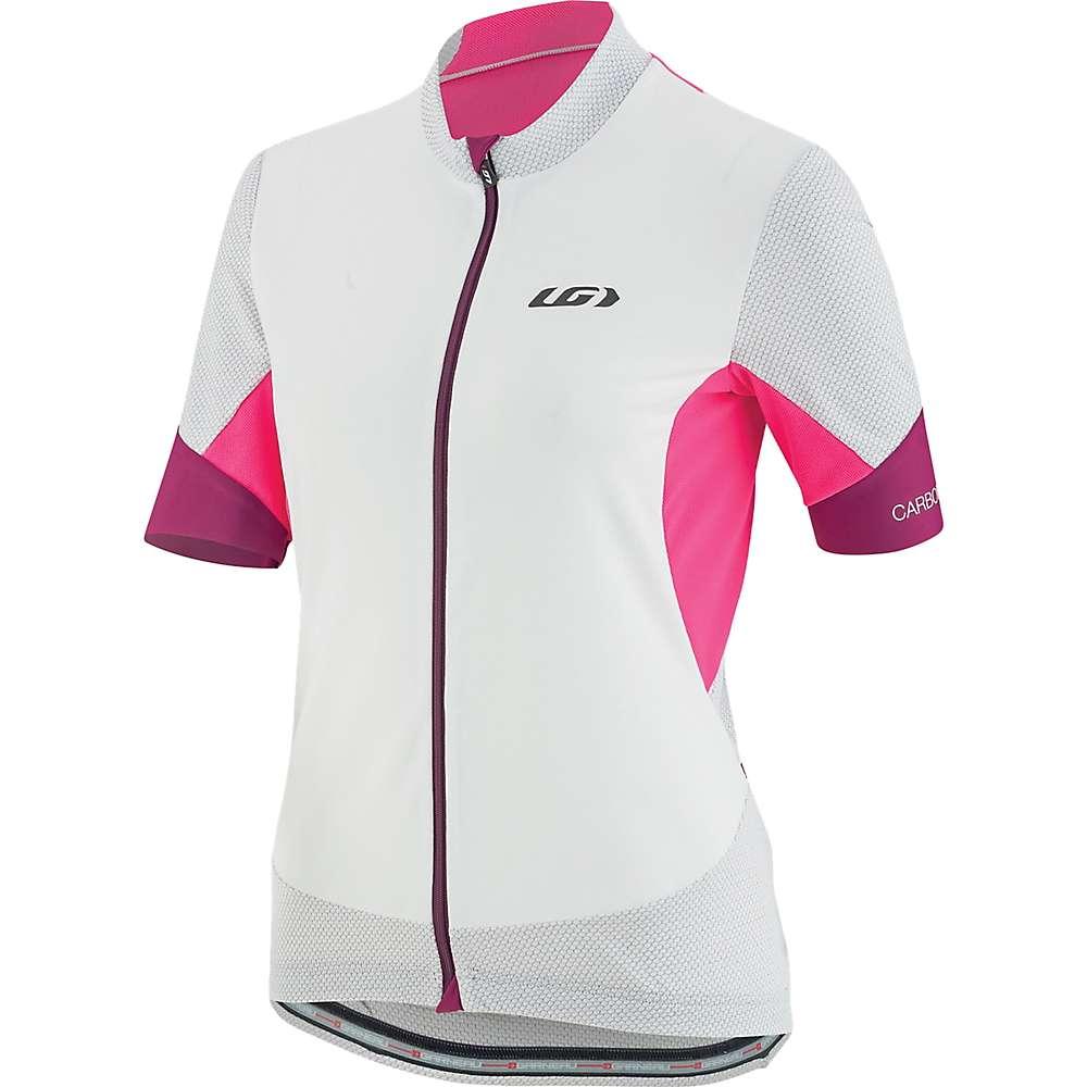 ルイスガーナー レディース 自転車 トップス【Louis Garneau Carbon Mesh Jersey】White / Pink