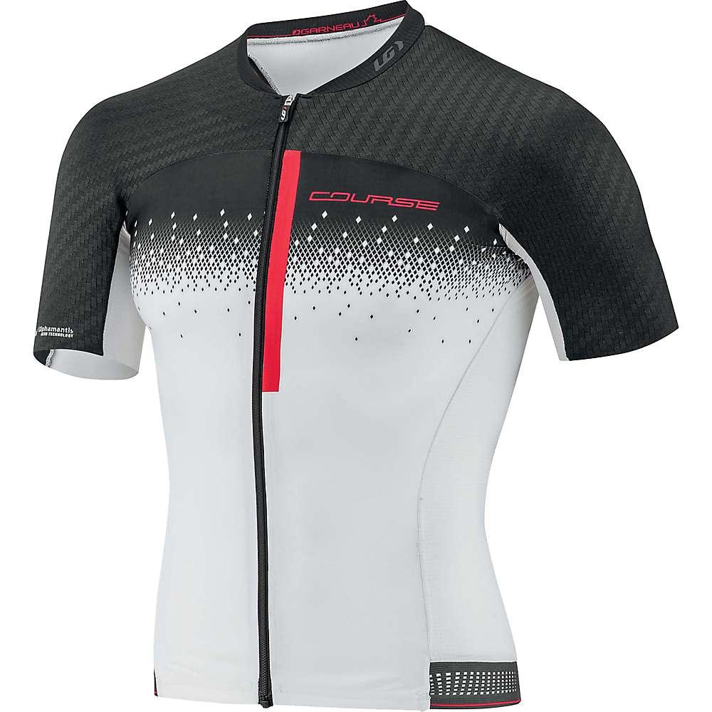 ルイスガーナー メンズ 自転車 トップス【Louis Garneau Course M-2 Race Jersey】Black / White / Ginger
