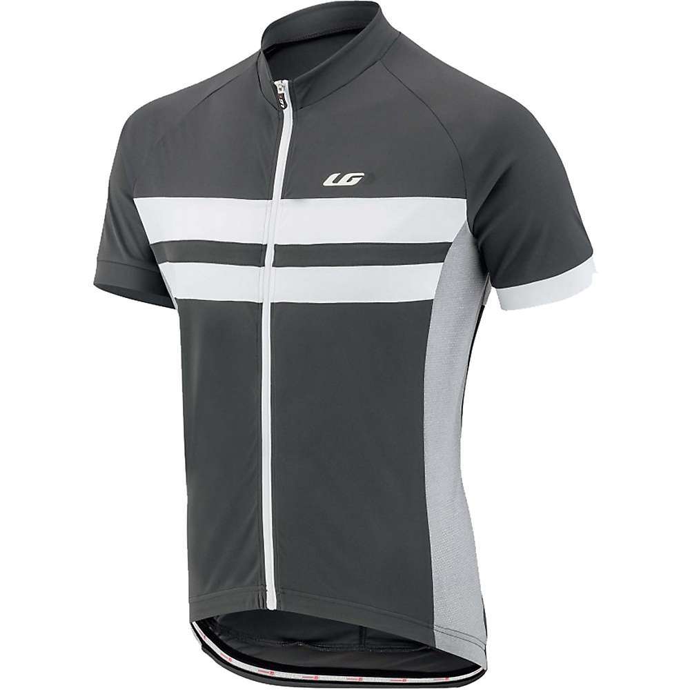 ルイスガーナー メンズ 自転車 トップス【Louis Garneau Evans Classic Jersey】Grey / White