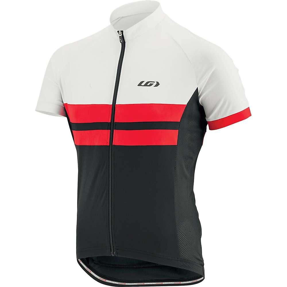ルイスガーナー メンズ 自転車 トップス【Louis Garneau Evans Classic Jersey】Black / Red / White