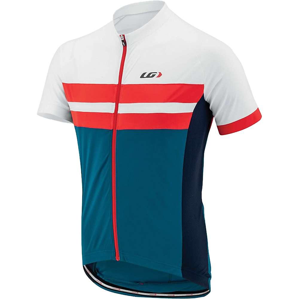 ルイスガーナー メンズ 自転車 トップス【Louis Garneau Evans Classic Jersey】Blue / White