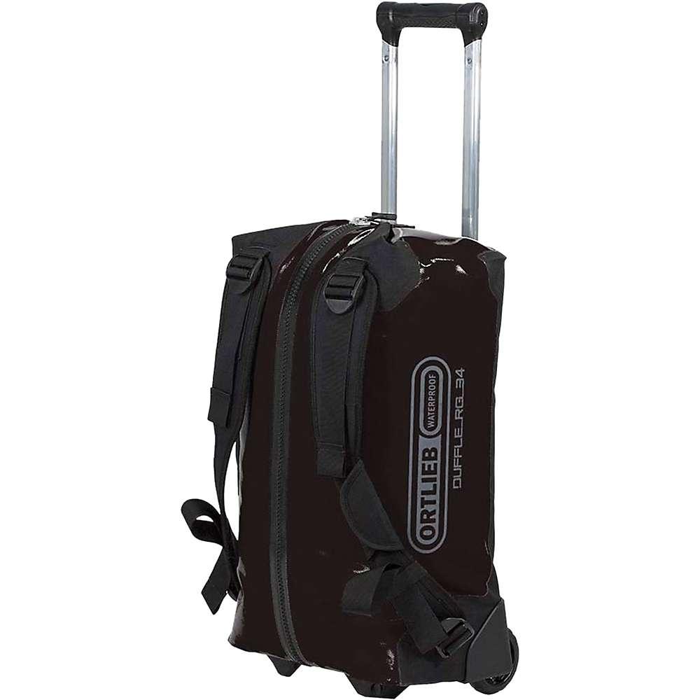 オートリービー ユニセックス バッグ【Ortlieb Duffle RG 34L Wheeled Luggage】Black