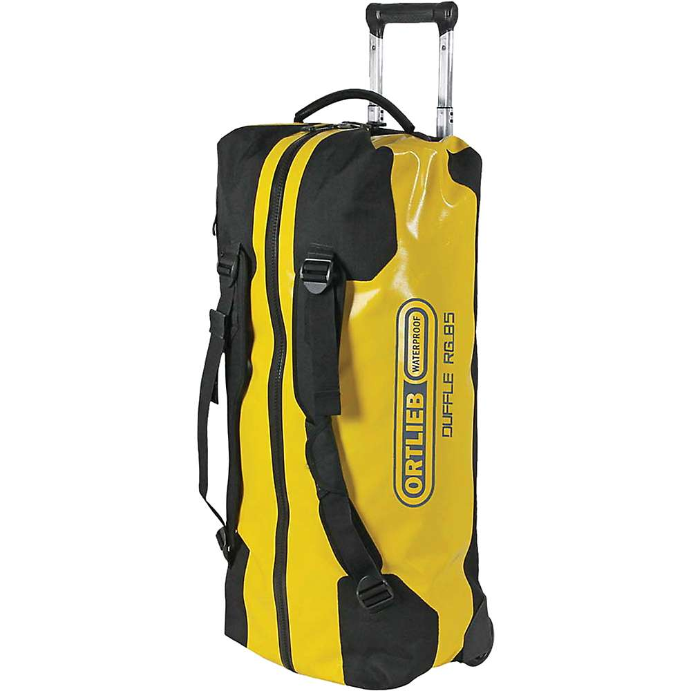 オートリービー ユニセックス バッグ【Ortlieb Duffle RG 85L Wheeled Luggage】Sun Yellow / Black