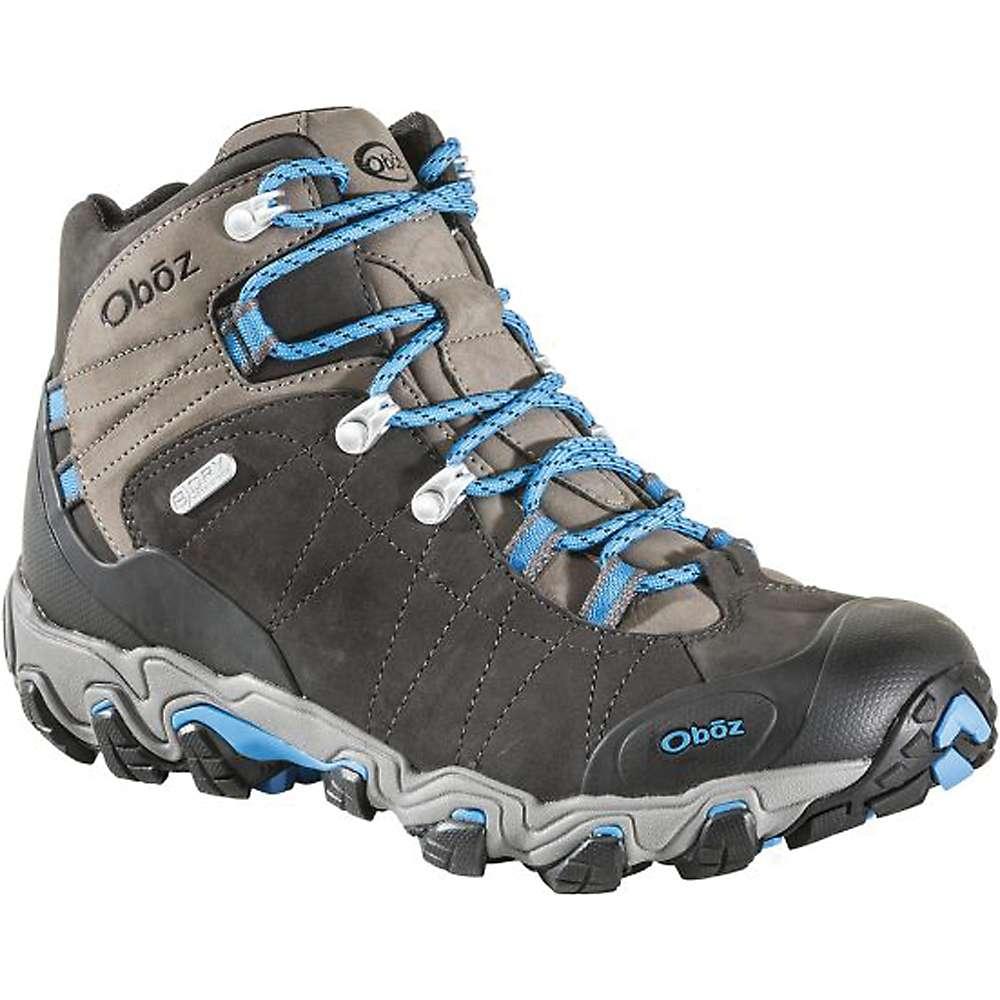 オボズ メンズ ハイキング・登山 シューズ・靴【Oboz Bridger Mid BDry Boot】Shale Gray