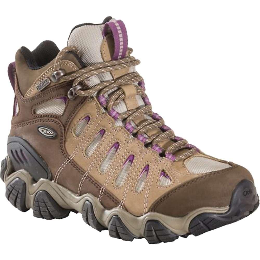 オボズ レディース ハイキング・登山 シューズ・靴【Oboz Sawtooth Mid BDry Boot】Violet