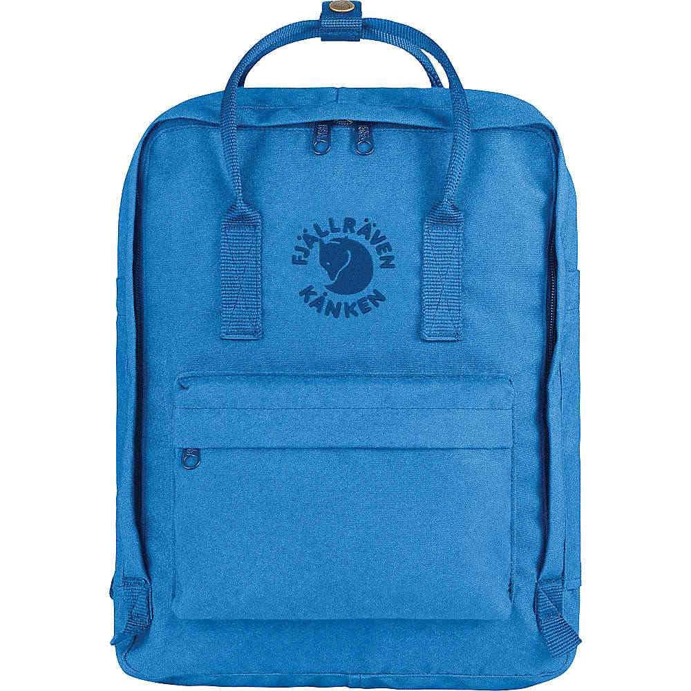 フェールラーベン メンズ ハイキング・登山【Fjallraven Re-Kanken Backpack】UN Blue