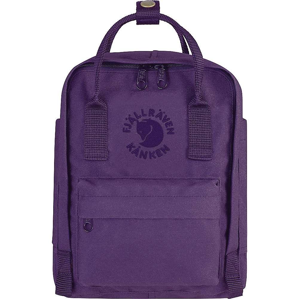 フェールラーベン メンズ ハイキング・登山【Fjallraven Re-Kanken Mini Backpack】Deep Violet