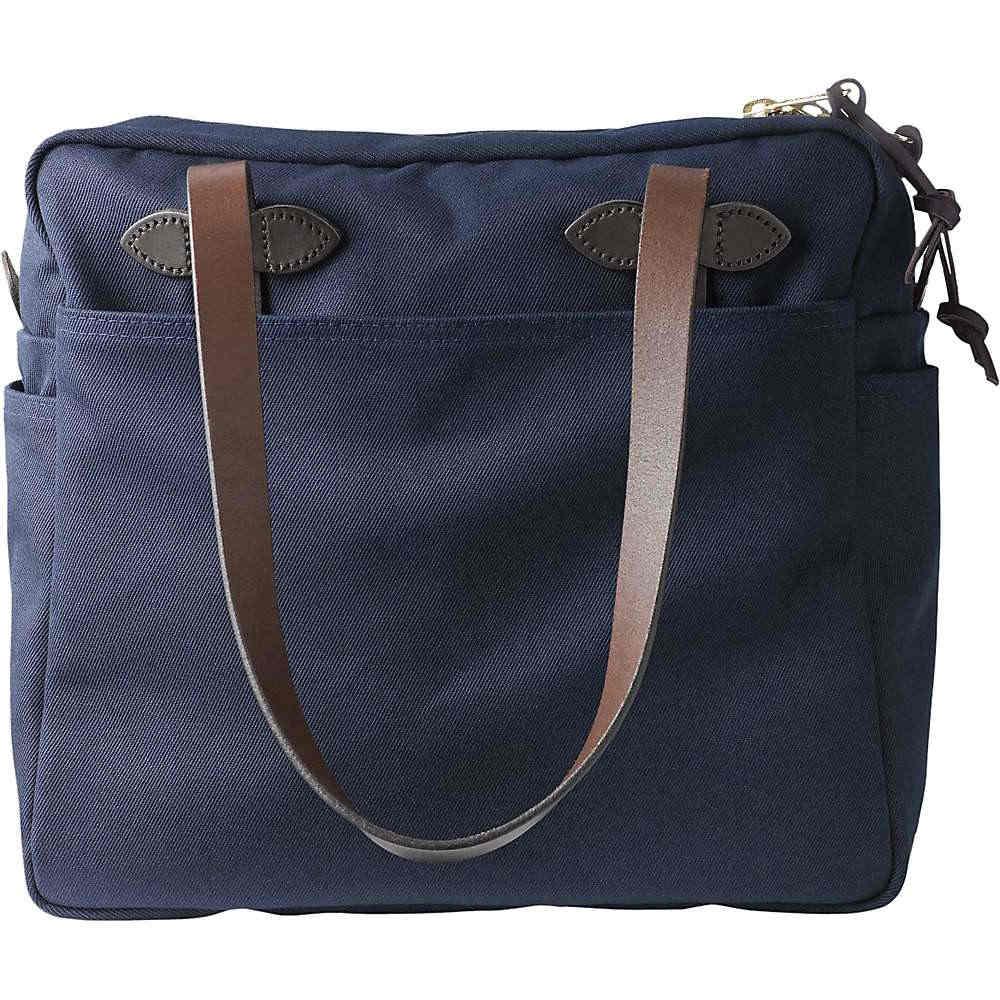 フィルソン ユニセックス バッグ トートバッグ【Filson Tote Bag with Zipper】Navy