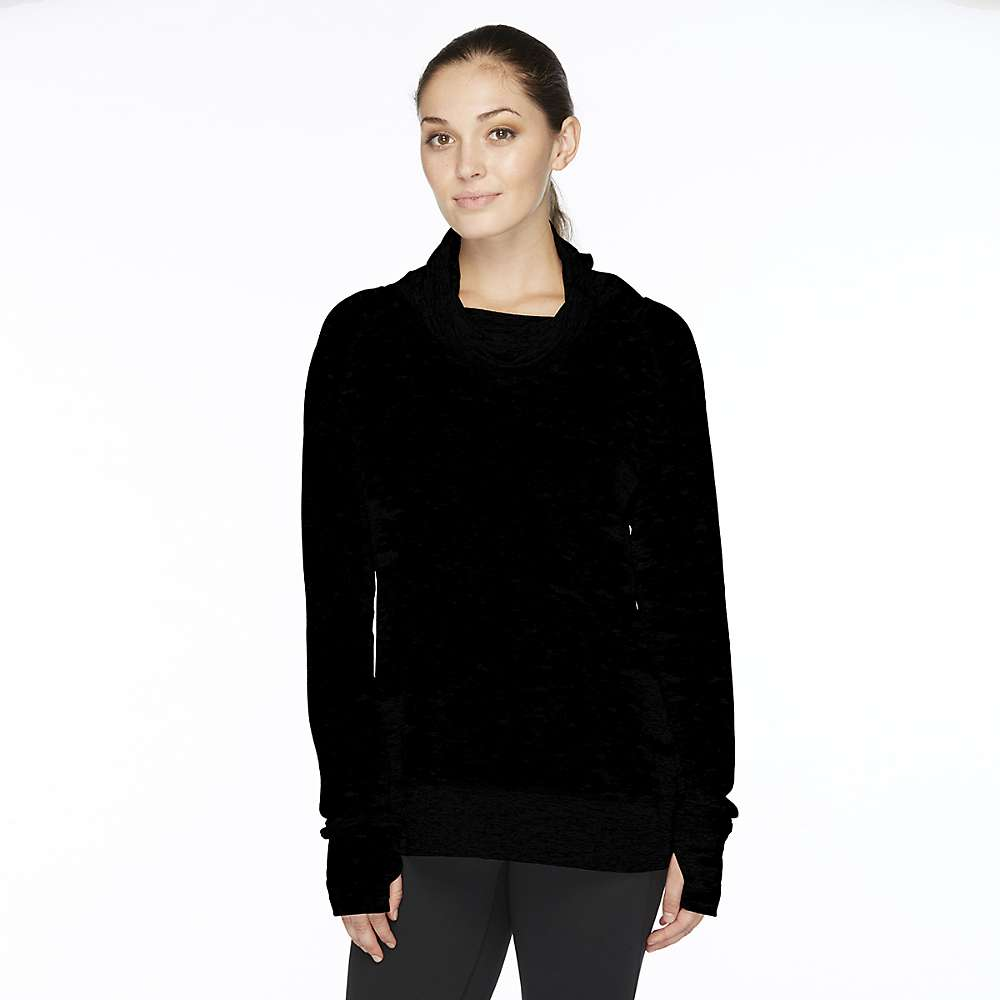 ストーンウェアデザイン レディース ヨガ・ピラティス トップス【Stonewear Designs Chimney Cowl Top】Black