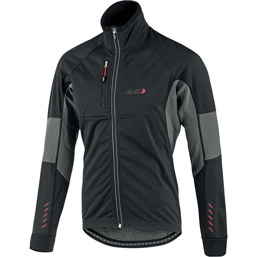 ルイスガーナー メンズ 自転車 アウター【Louis Garneau LT Enerblock Jacket】Black / Grey