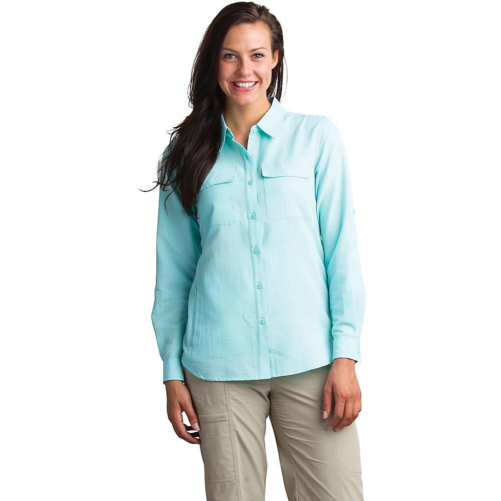 エクスオフィシオ レディース ハイキング・登山 トップス【ExOfficio Rotova LS Shirt】Aruba