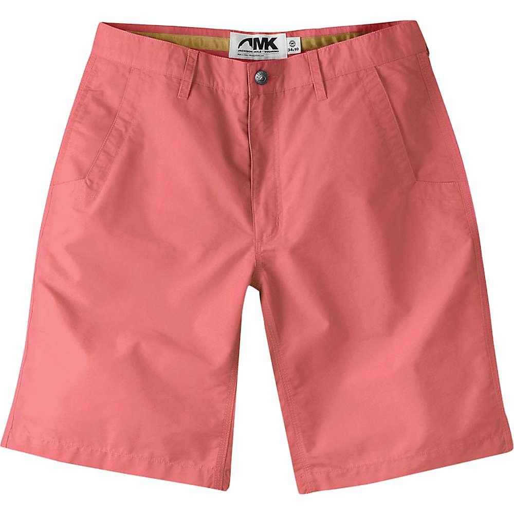 マウンテンカーキス メンズ ハイキング・登山 ボトムス・パンツ【Mountain Khakis Slim Fit Poplin 8IN Short】Rojo