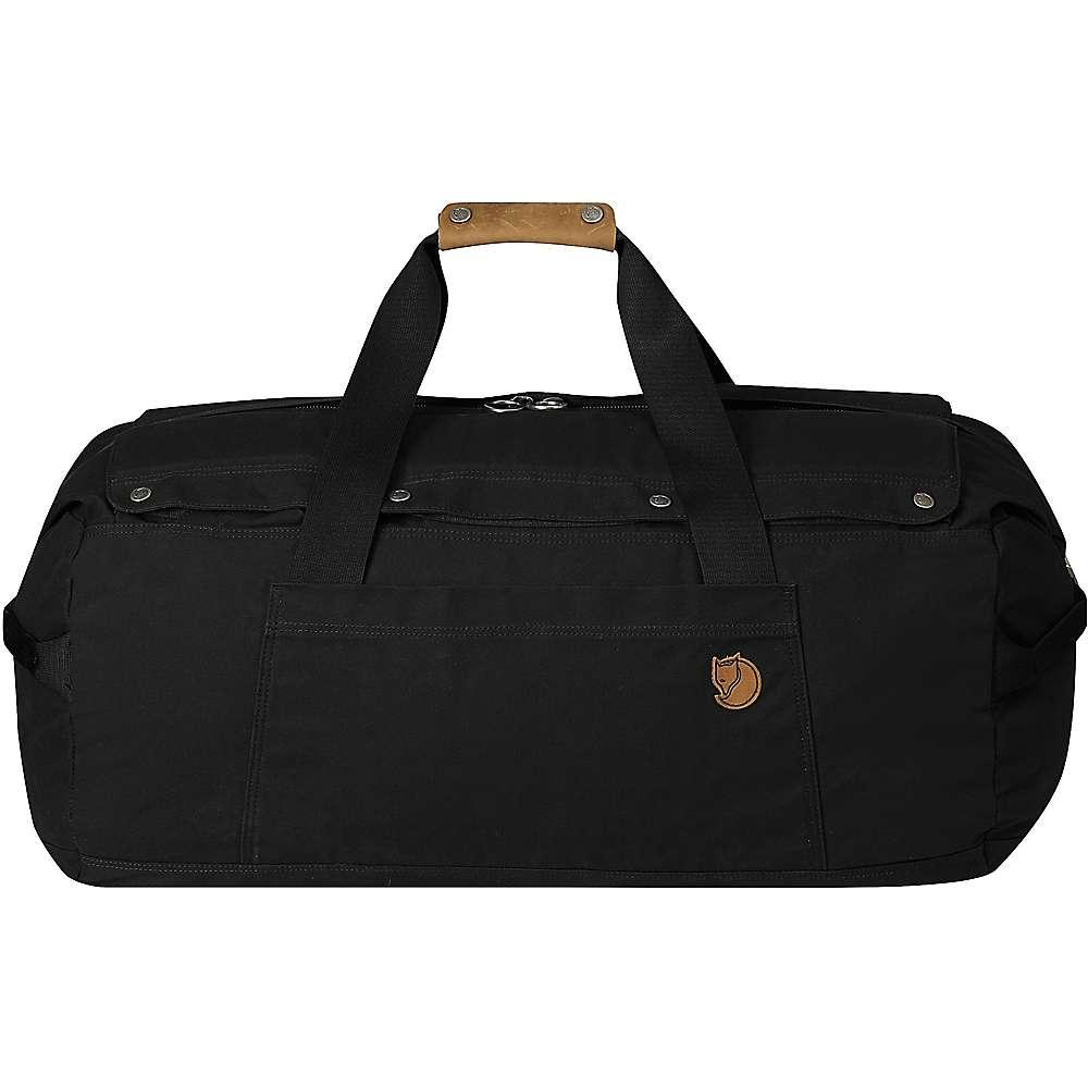 フェールラーベン ユニセックス バッグ ボストンバッグ・ダッフルバッグ【Fjallraven No.6 Medium Duffel Bag】Black