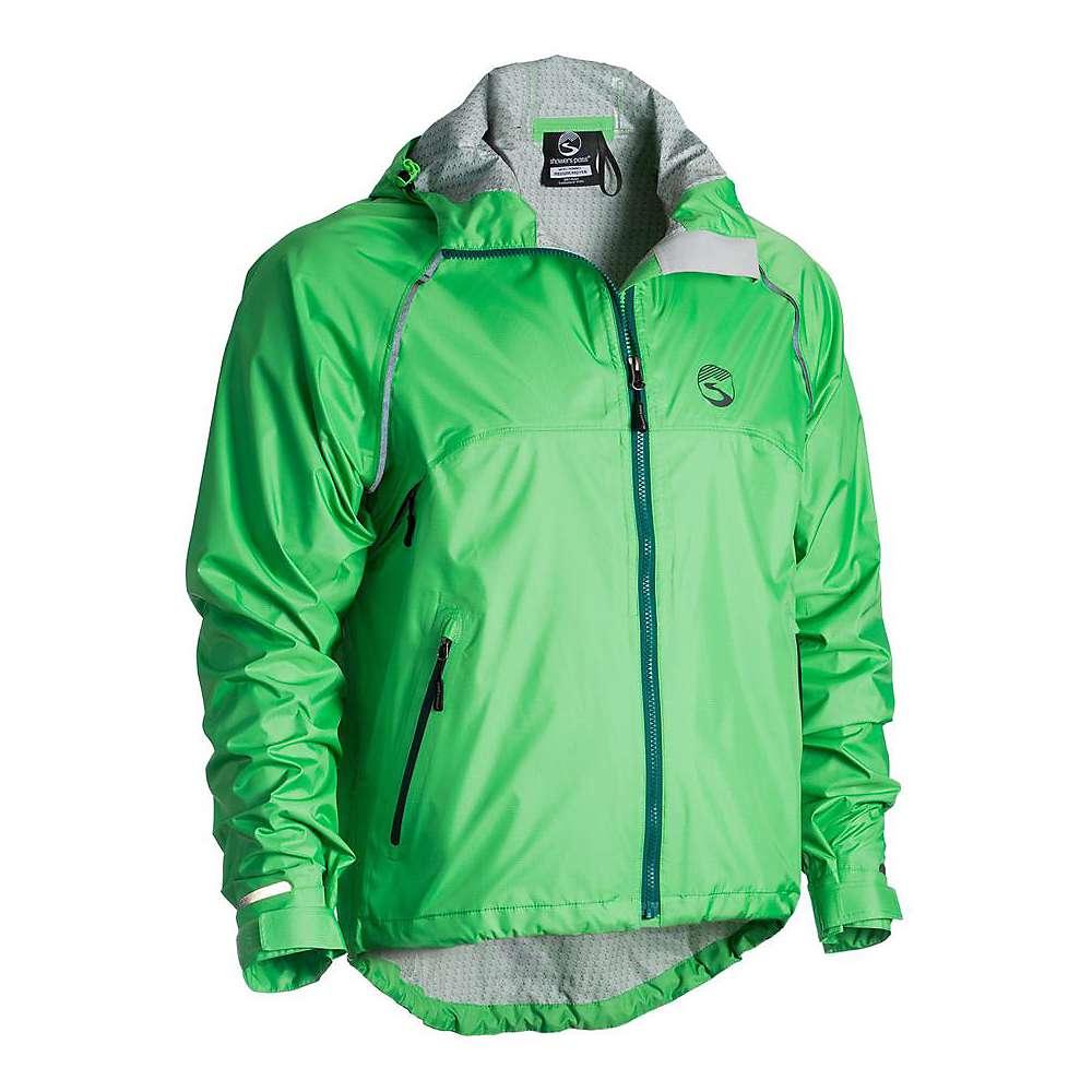 シャワーズ パス メンズ 自転車 アウター【Showers Pass Syncline Jacket】Lime