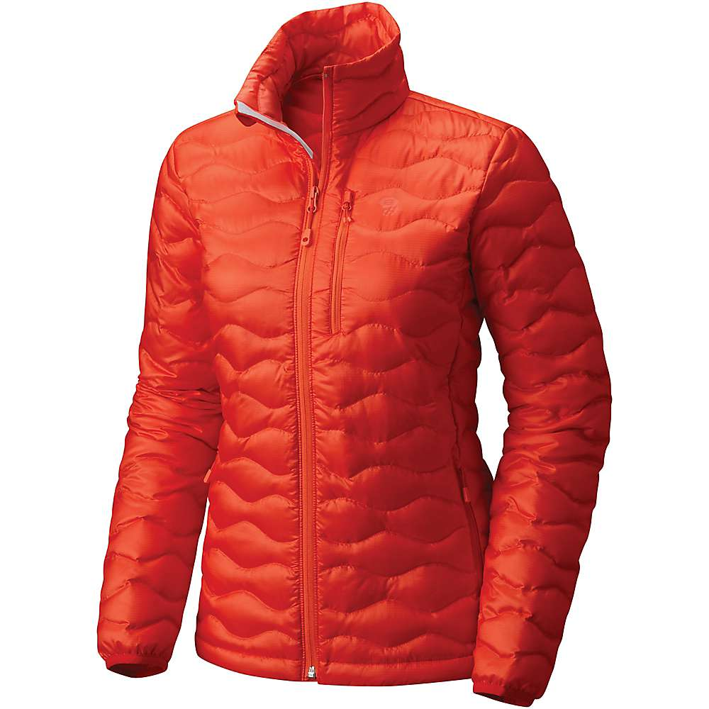 マウンテンハードウェア レディース ハイキング・登山 アウター【Mountain Hardwear Nitrous Down Jacket】Fiery Red