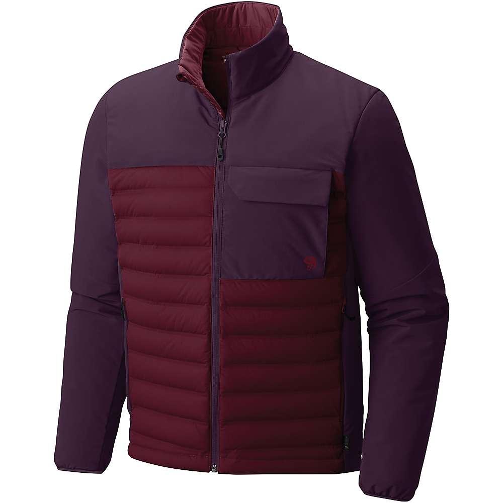 マウンテンハードウェア メンズ ハイキング・登山 アウター【Mountain Hardwear StretchDown HD Jacket】Cote du Rhone / Dark Tannin