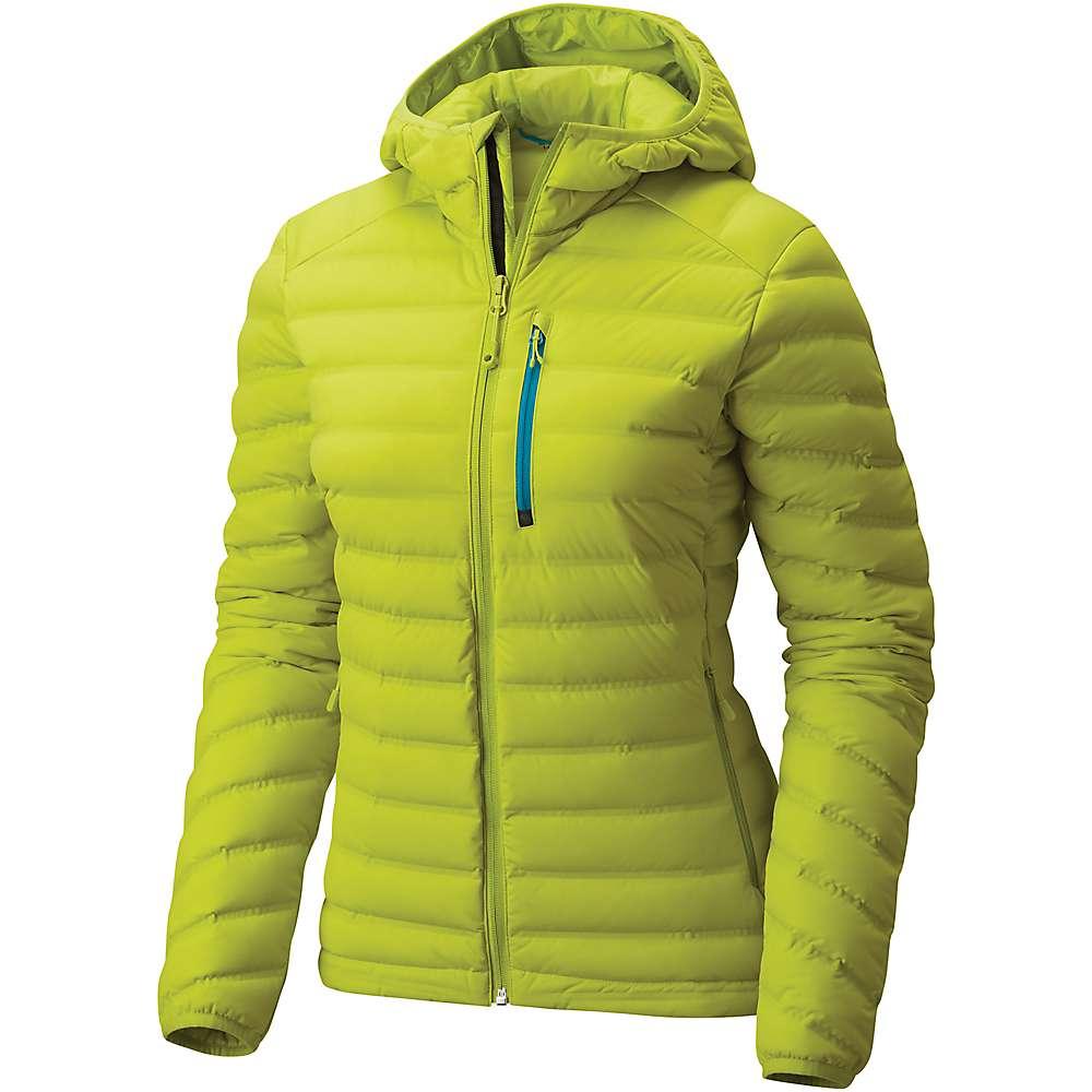 マウンテンハードウェア レディース ハイキング・登山 アウター【Mountain Hardwear StretchDown Hooded Jacket】Fresh Bud