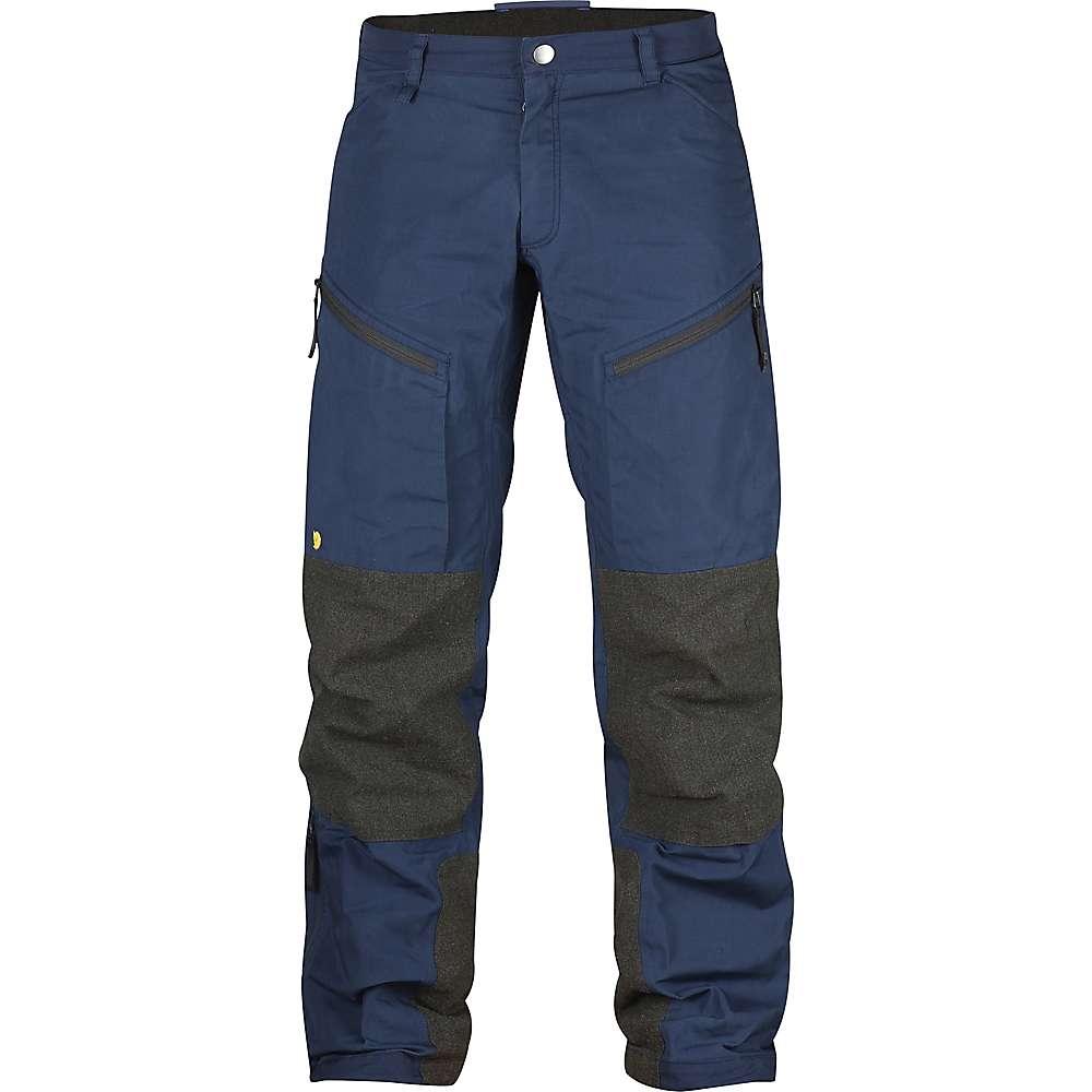 フェールラーベン メンズ ハイキング・登山 ボトムス・パンツ【Fjallraven Bergtagen Trouser】Mountain Blue