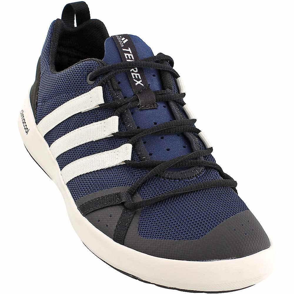アディダス メンズ シューズ・靴 ウォーターシューズ【Adidas Terrex CC Boat Shoe】Collegiate Navy / Chalk White / Black
