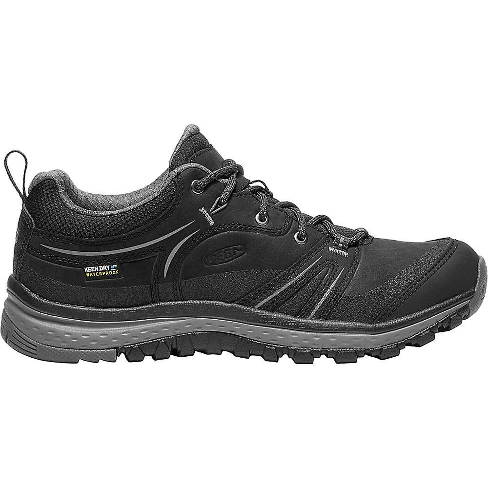 キーン レディース ランニング・ウォーキング シューズ・靴【Keen Terradora Leather Waterproof Shoe】Black / Steel Grey