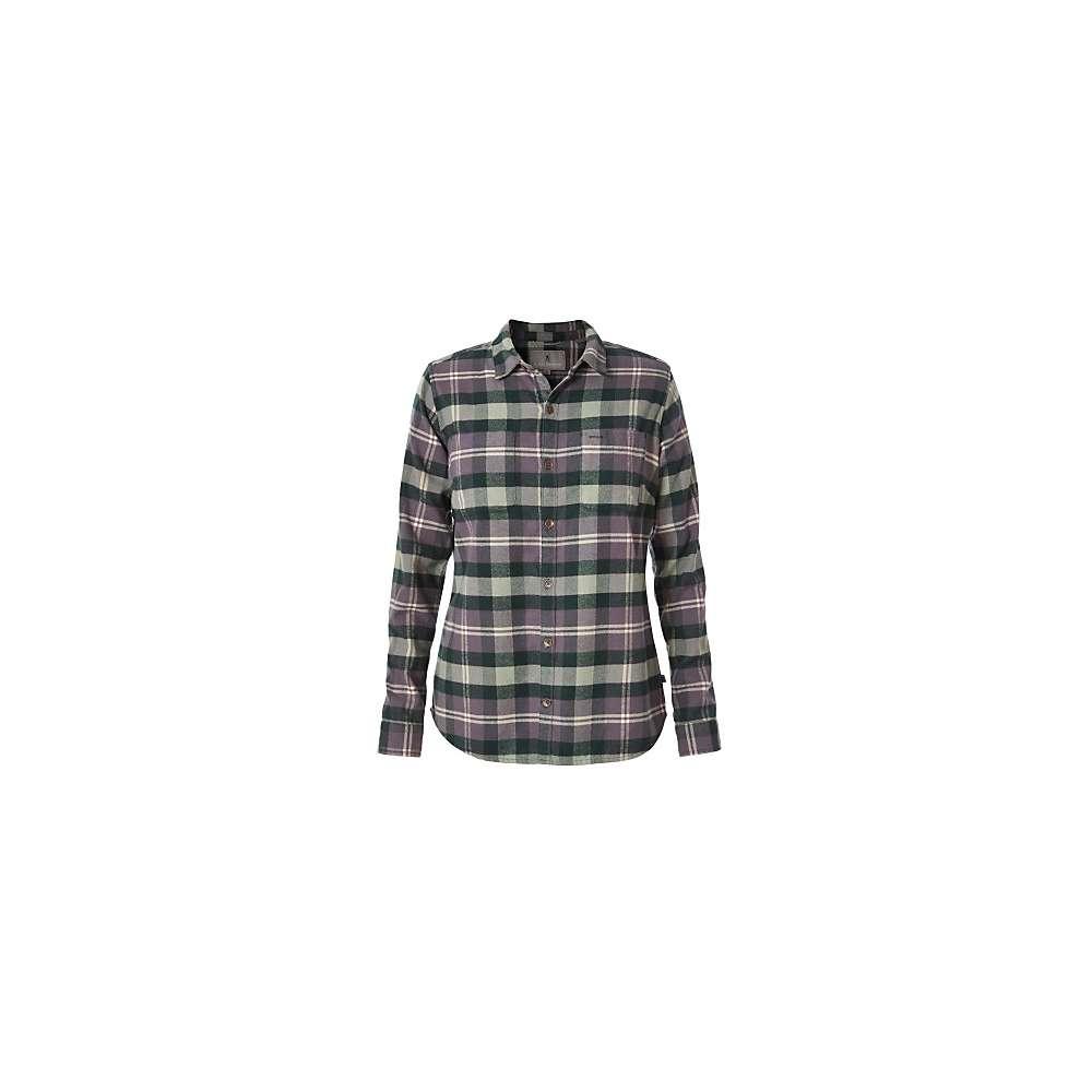 ロイヤルロビンズ レディース ハイキング・登山 トップス【Royal Robbins Lieback Flannel LS Shirt】Green Gables