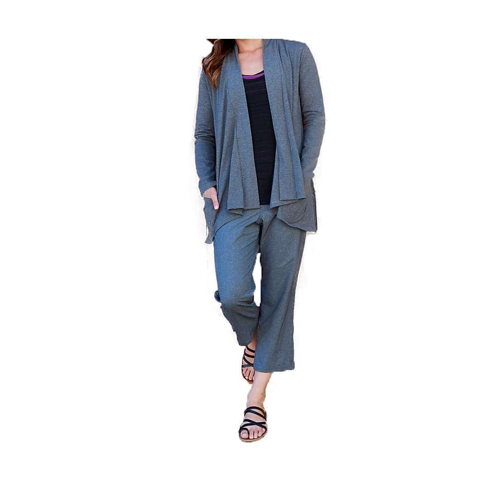 ストーンウェアデザイン レディース ハイキング・登山 トップス【Stonewear Designs Cortina Cardigan】Heather Grey